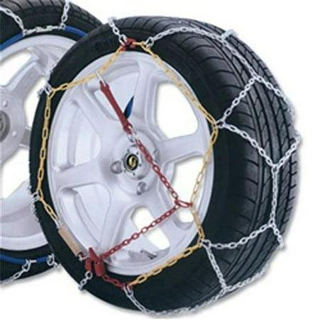 Aleko SCHAIN-50-UNB 12 mm High Quality Passenger Car Snow Chain, Size 50 -  Set of 2