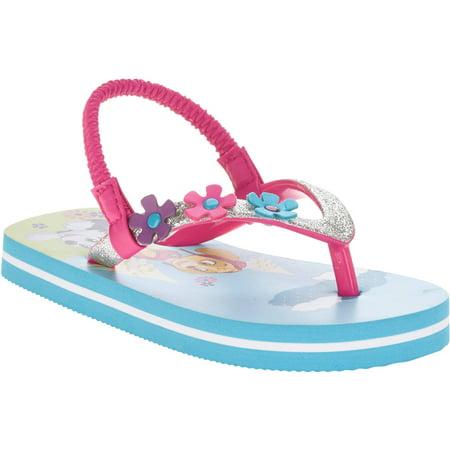 092cb18d705555 Paw Patrol - Toddler Girls  Beach Flip Flop - Walmart.com