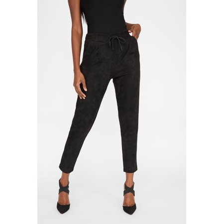 Urban Planet Women's Faux-Suede Pant - image 1 of 4