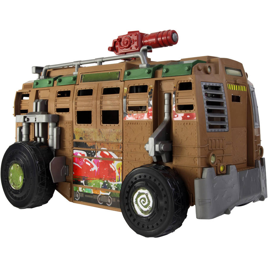 Teenage Mutant Ninja Turtles Shellraiser Group Vehicle