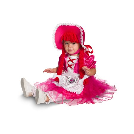 Little Miss Muffet Dress (Baby Little Miss Muffet Costume 6 to 12)