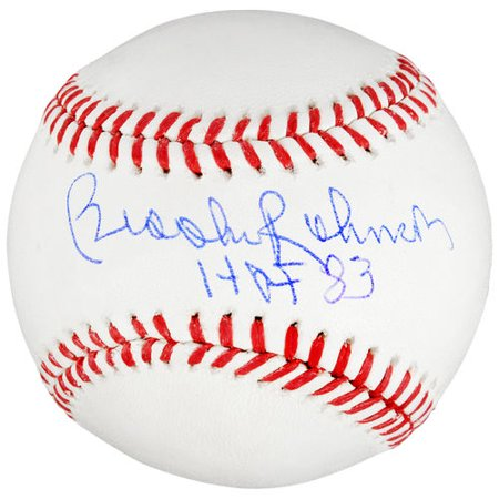 Brooks Robinson Baltimore Orioles Autographed MLB Baseball with HOF 83 Inscription