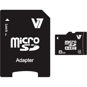 8GB MICRO SDHC CLASS4 W/SD ADAPTER INCLUDING RETAIL