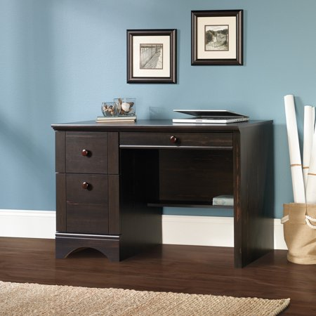 Sauder Harbor View Computer Desk, Antiqued Paint Finish ()