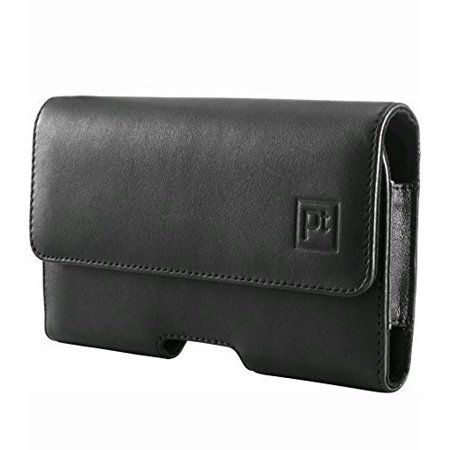 platinum leather hip case fits most phones up to 5''