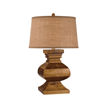 Table Lamps 1 Light With Dark Russian Oak Finish Wood Material E26 Bulb Type 29 inch 150 Watts