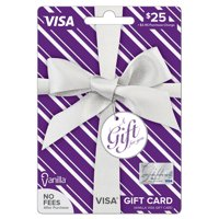 Vanilla Visa $25 Metallic Pattern Gift Card