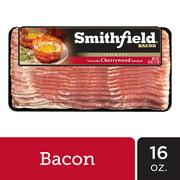 Smithfield Naturally Cherrywood Smoked Thick Cut Bacon, 16 oz