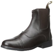 Ladies' Equi-star Synthetic Aw Zip Paddock Boot Brown 7
