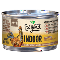 Purina Beyond Indoor Natural Grain Free Chicken Recipe Adult Wet Cat Food - (12) 3 oz. Cans