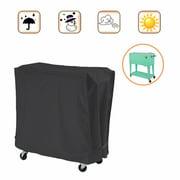 Cooler Cart Cover Cold Drinks Trolley Outdoor Garden Multifunction Rainproof
