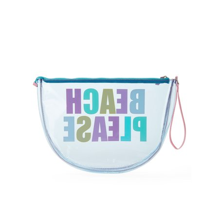 No Boundaries Jelly Half Moon Beach Pouch ()