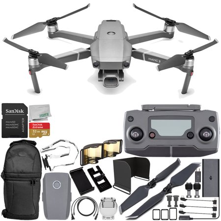 "DJI Mavic 2 Pro Drone Quadcopter with Hasselblad Camera 1"" CMOS Sensor Everything You Need Starter Bundle"