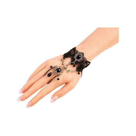 Sexy Jewelry Halloween Jewelry - Dark Royalty Hand Jewelry Halloween Costume Accessory