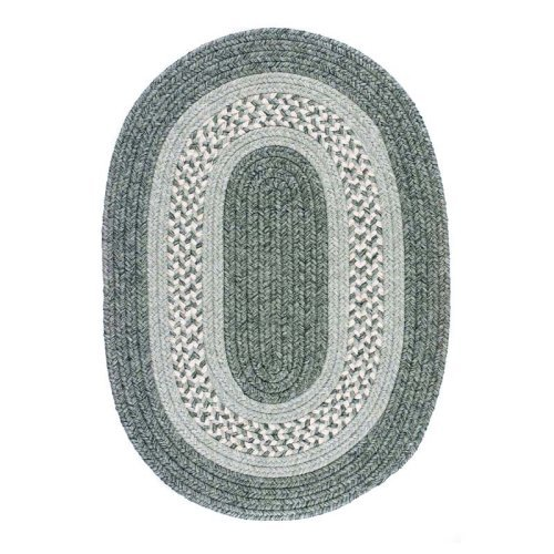 Colonial Mills Monroe Indoor/Outdoor Braided Area Rug - Silverleaf