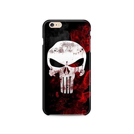 Ganma Punisher Deadpool Logo Case For Iphone 6 6s Hard Case (Punisher Cover)