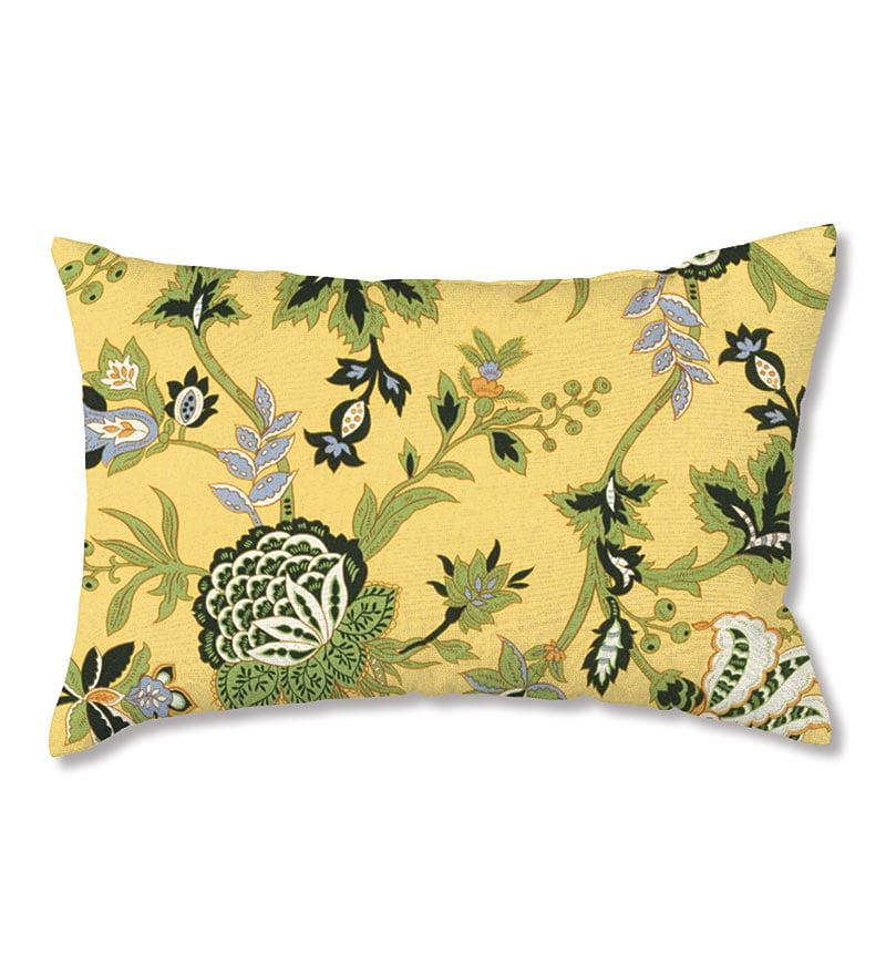 Weather Resistant Outdoor Lumbar Pillow 19 X 12 Walmart Com