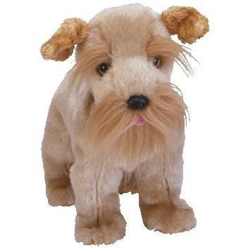 ty beanie bIy - schnitzel the schnauzer dog plush stuffed (Plush Stuffed Beanie Dog)