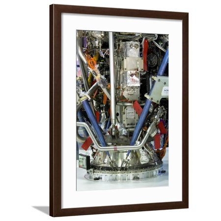 Ariane Rocket Engine Framed Print Wall Art By Mark Williamson