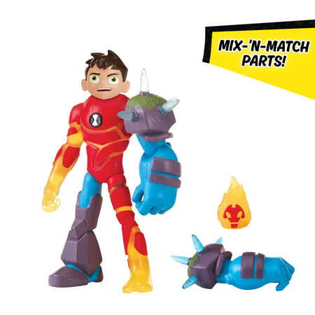 Omni-Glitch Heroes: Ben-Heatblast-Shock Rock