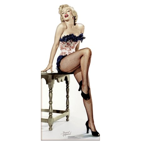 Cardboard Cutout (Star Cutouts Marilyn Monroe Net Stockings Cardboard Cutout Life Size)