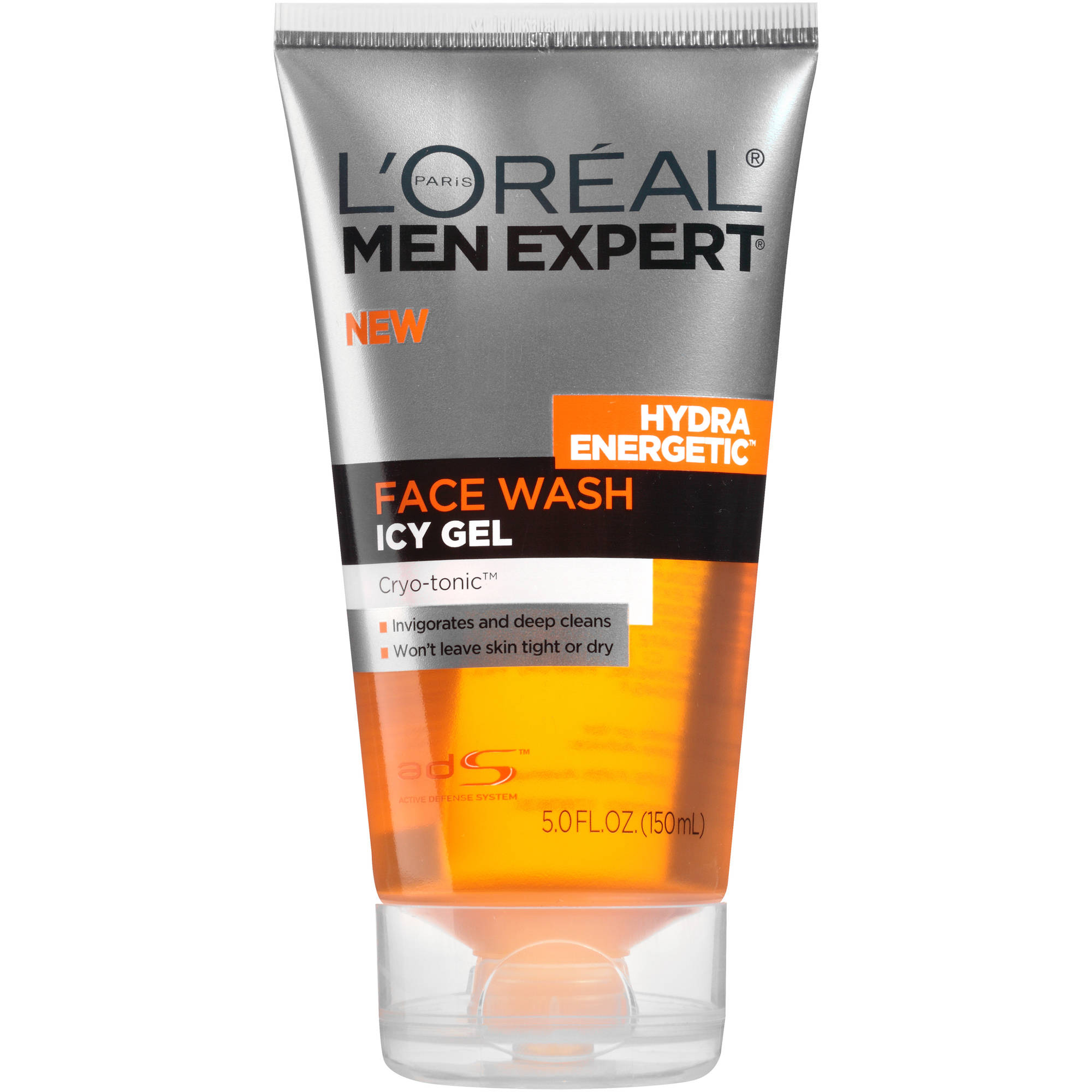 Loreal Mens Expert Hydra Energetic Icy Gel Face Wash 5.0 oz - Walmart.com