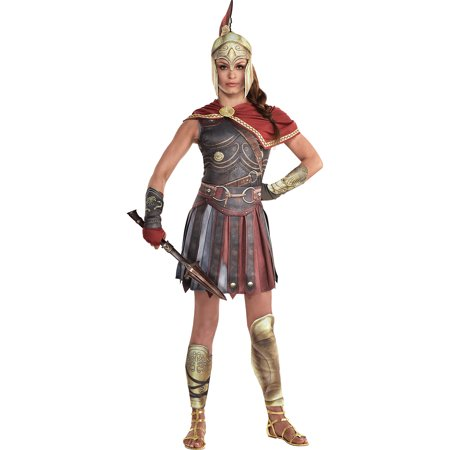 City Of Campbell Halloween (Party City Kassandra Halloween Costume for Women, Assassin's Creed, with)