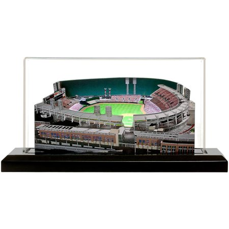 "Cincinnati Reds 13"" x 6"" Great American Ball Park Light Up Replica Ballpark - No Size"