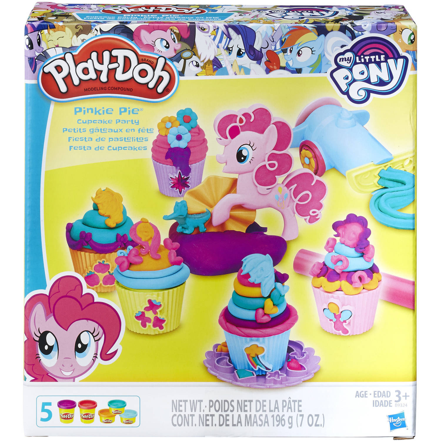 Play-Doh My Little Pony Pinkie Pie Cupcake Party Food Set