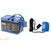 Peg Perego 12 Volt Blue Battery and Charger Combo Set - IAKB0501 MECB0034U