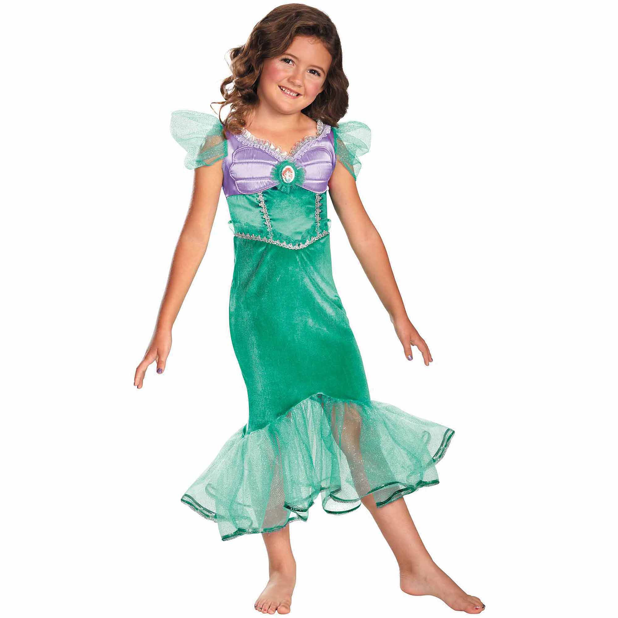 34e061914 Disney Princess Ariel Sparkle Classic Child Halloween Costume ...