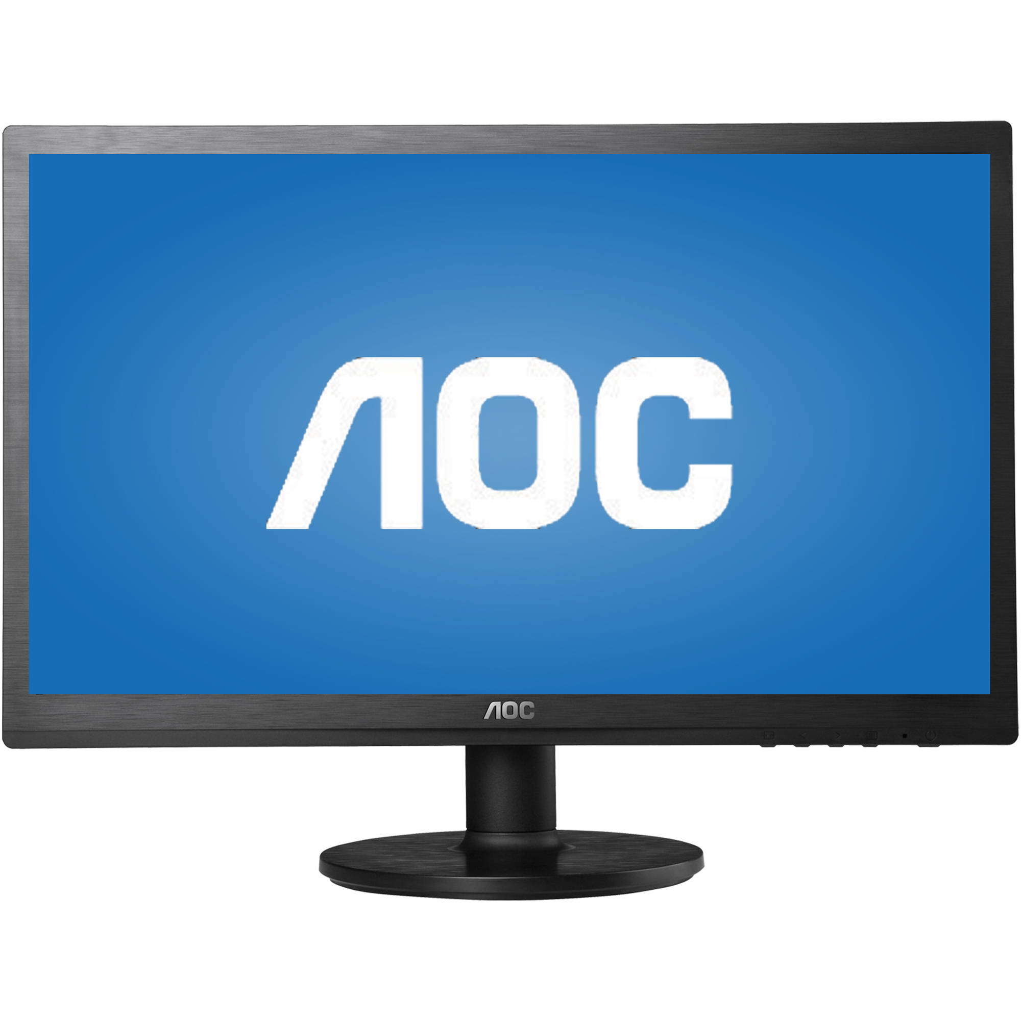 "AOC Monitor 22"" Class Full HD 1920x1080 VGA DVI-D Built-in 2Wx2 Speakers E2260SWDA"