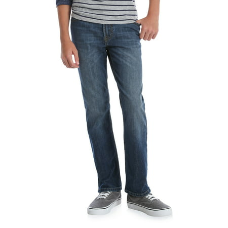 Wrangler Boys 4-16 Performance Slim Straight Jeans
