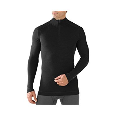 Smartwool Men's NTS Mid 250 Zip T (Black) Medium