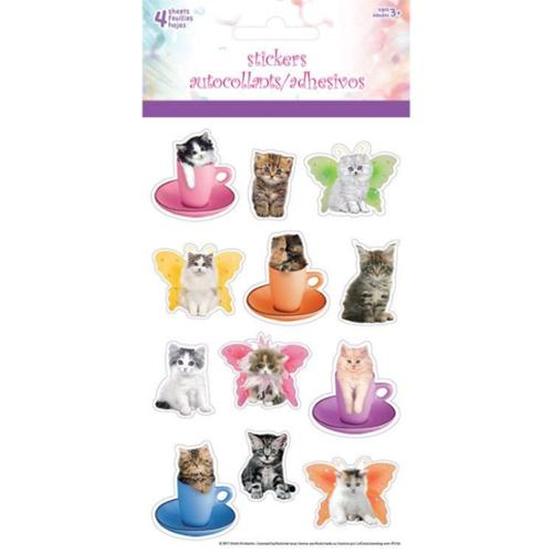 Kitty Cat Stickers - Party Supplies