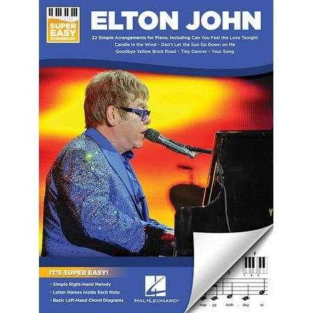 Elton John - Super Easy Songbook (Paperback)