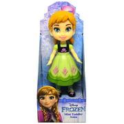 "Anna Frozen Light Green Dress Disney Mini Toddler Doll 3"""