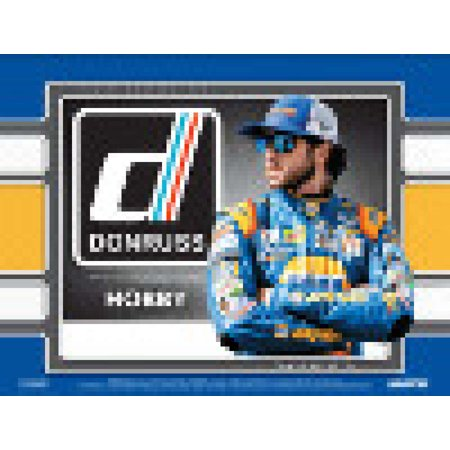 2018 Panini Donruss Racing Hobby Box (24 Packs/10 Cards: 3 Autographs or Memorabilia, 9 Base Parallels, 12 Inserts)
