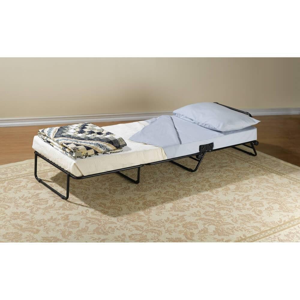 Folding Ottoman Sleeper Guest Bed