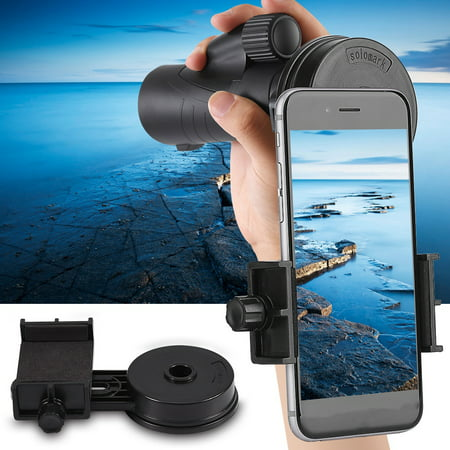 - WALFRONT Universal Cell Phone Adapter Holder Mount Microscope Telescope Interface Bracket