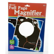 2 Full-Page Magnifier (Pack of 3) - 8.5 Inch X 11 Inch