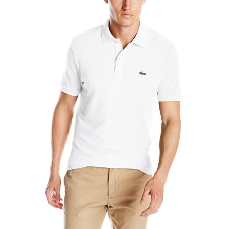 Lacoste Men's Slim Fit  Pique Polo Shirt White (Girls In Short Shorts And Tank Tops)