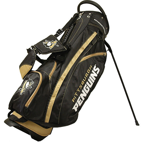 Team Golf NHL Pittsburgh Penguins Fairway Golf Stand Bag