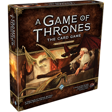 A Game of Thrones: The Card Game Second Edition Strategy Board (Game Of Thrones Board Game Storm Of Swords)