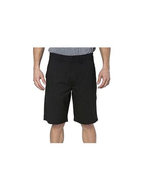 Hang Ten Mens Size 30 Walkshorts, Black