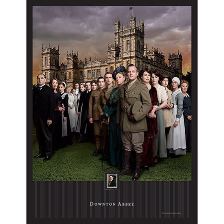 Imperial Mint Downton Abbey Season 2 Framed Artwork w/ Postage Stamp