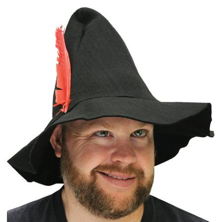 Felt Hillbilly Hat Halloween Accessory - Dead Hillbilly Halloween