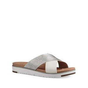 UGG Australia Kari Metallic Flat Sandal - Womens