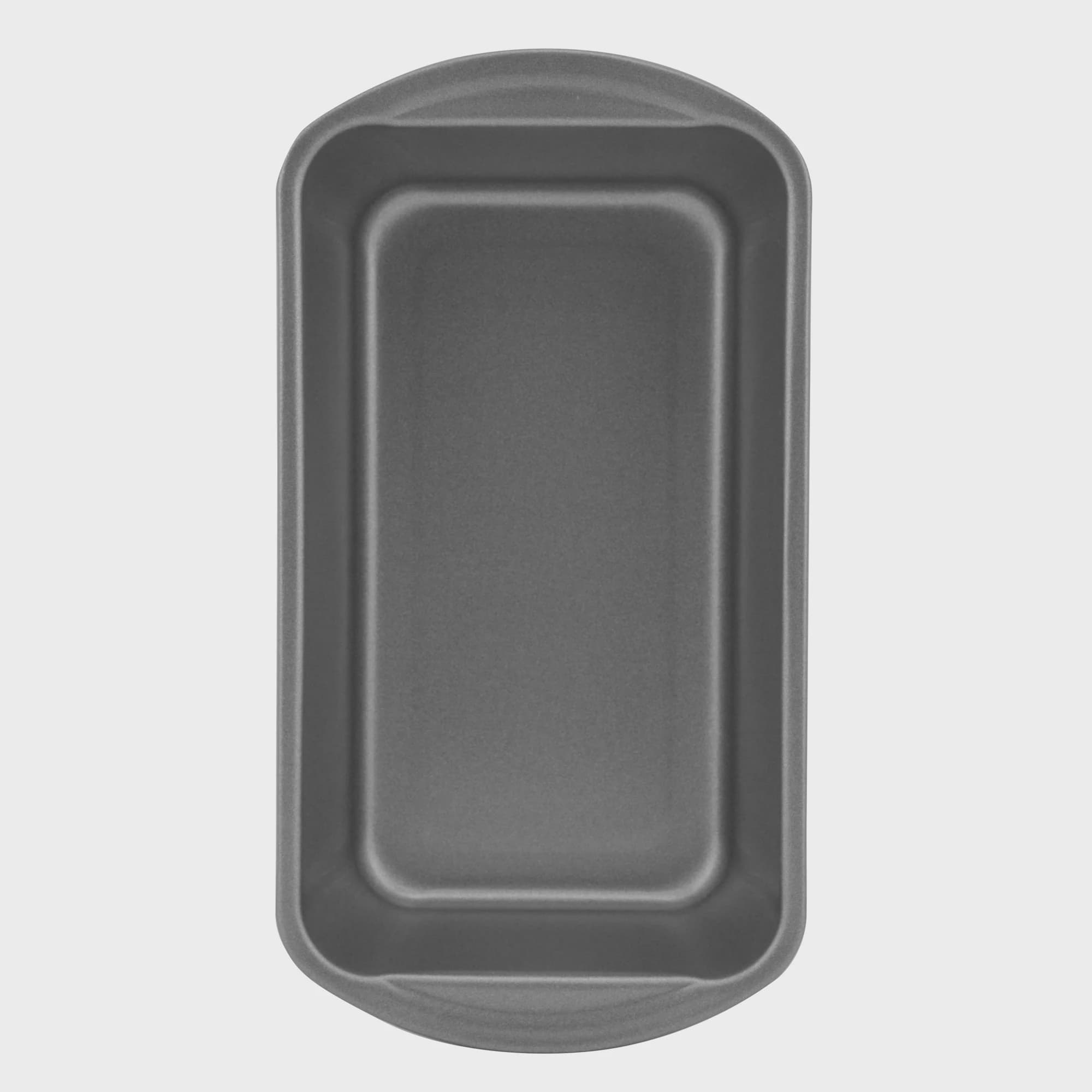 """Mainstays Nonstick 9"""" x 5"""" x 2.7"""" Large Loaf Pan, Meatloaf and Bread Pan, Gray"""