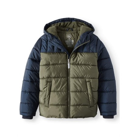 9b6488650 Wonder Nation - Bubble Jacket (Little Boys   Big Boys) - Walmart.com